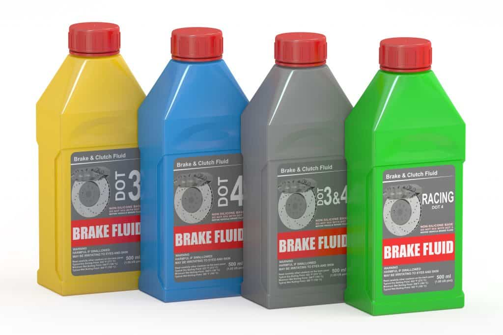 bet dot 4 brake fluid